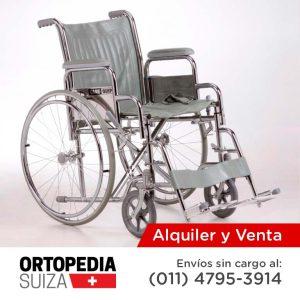 Venta y alquiler de sillas de ruedas ortopedia suiza for Sillas de ruedas usadas